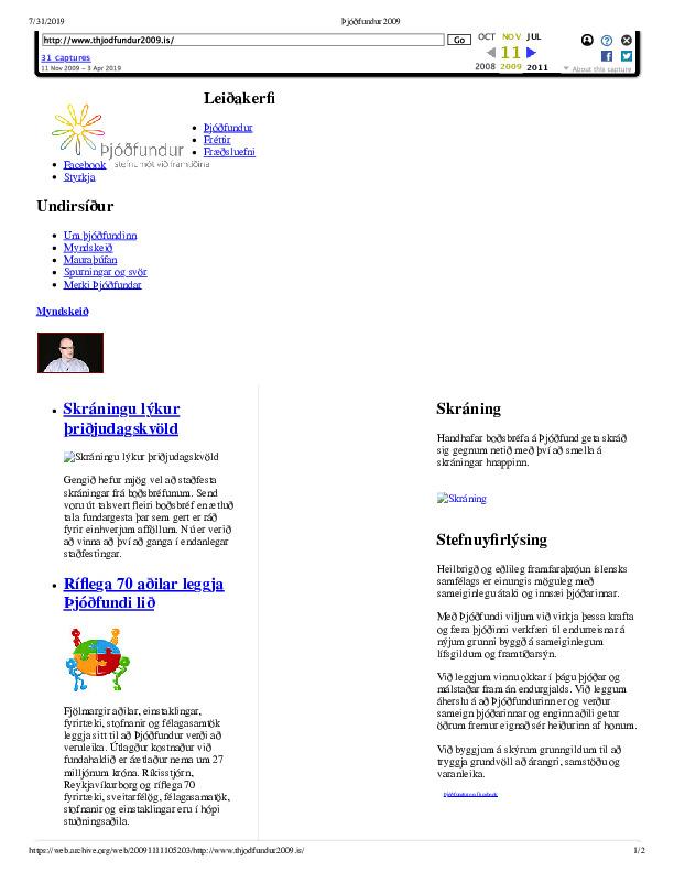 jóðfundur 2009 Primary.pdf