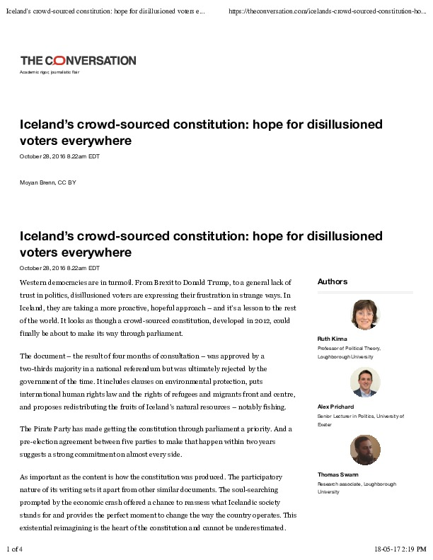 """Ruth, Alex, Thomas Iceland's crowd-sourced constitution- hope for disillusioned voters everywhere"""".pdf"""