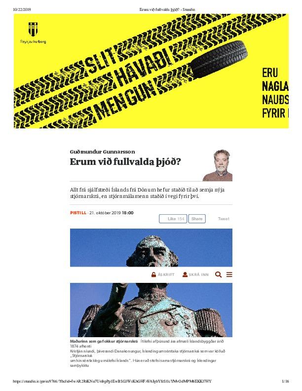 Erum við fullvalda þjóð_ - Stundin.pdf