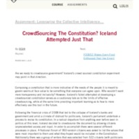 CrowdSourcing The Constitution_ Iceland Attempted Just That – Digital Innovation and Transformation.pdf