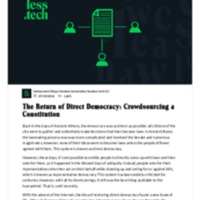 The Return of Direct Democracy_ Crowdsourcing a Constitution.pdf