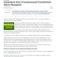 Icelanders Give Crowdsourced Constitution Warm Reception _ News _ TechNewsWorld.pdf