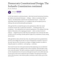 Democratic Constitutional Design_ The Icelandic Constitution continued.pdf