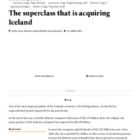 The superclass that is acquiring Iceland.pdf