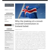 Why the making of a crowd-sourced Constitution in Iceland failed _ Constitution-Making and Constitutional Change.pdf