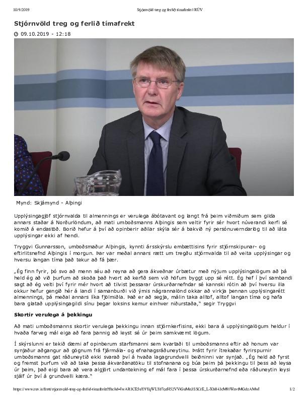 Stjórnvöld treg og ferlið tímafrekt _ RÚV.pdf