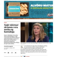 Segir stjórnar_skránna vera úr_elta og hættu_lega.pdf