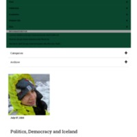 Politics, Democracy and Iceland.pdf