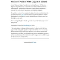 Mackerel Petition Fifth Largest in Iceland – Iceland Review.pdf