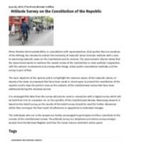 The Cabinet _ Attitude Survey on the Constitution of the Republic.pdf