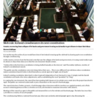 Mob rule_ Iceland crowdsources its next constitution _ World news _ The Guardian.pdf
