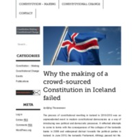 B.Thorarensen Why the making of a crowdsourced constitution in icelan failed.pdf