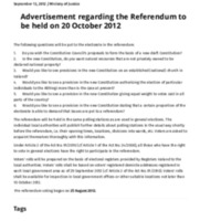 Government of Iceland _ Advertisement regarding the Referendum to be held on 20 October 2012.pdf